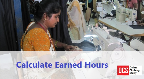 Earned hours calculation method