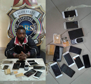 Police Arrests Man Who Buy Phones From Armed Robbers And Resell As London Used