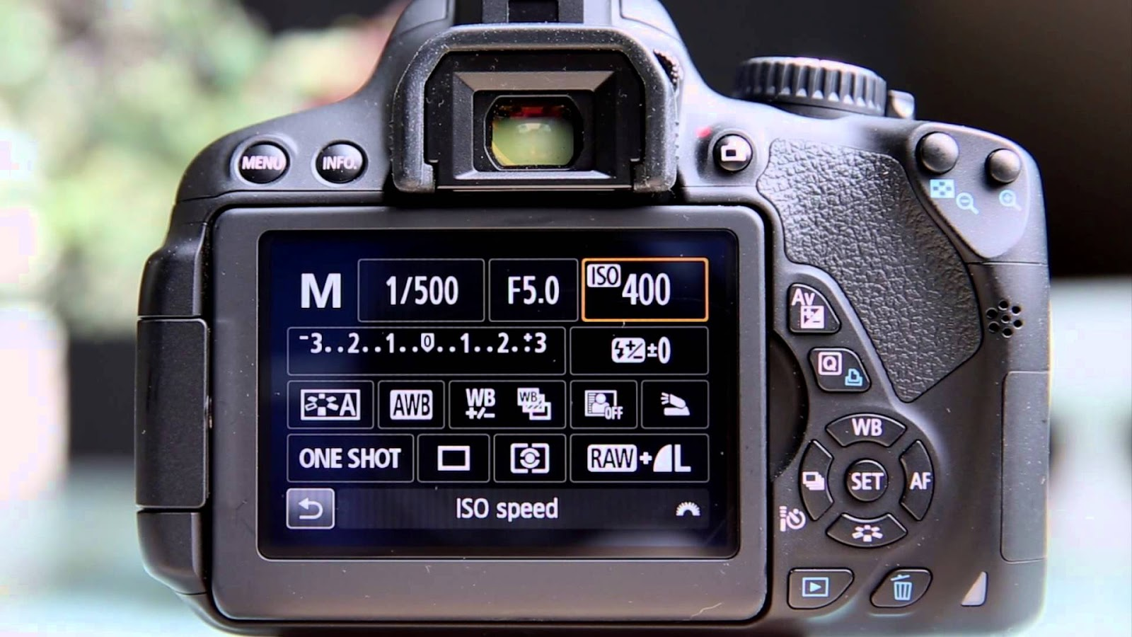 ISO kamera