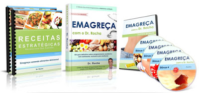 Ebook e bônus do Emagreça com o Dr. Rocha
