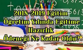 2018 Eğitim Ödeneği Miktarı-Ödenme Tarihi