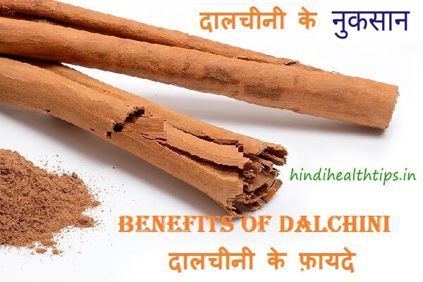 Benefits of Using Cinnamon in Hindi
