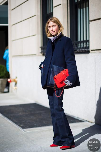 New York Fashion Week FW 2015 Street Style Pernille Teisbaek