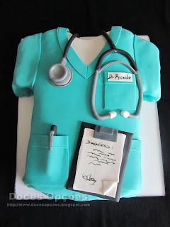 Bolo do aniversário do Dr Ricardo