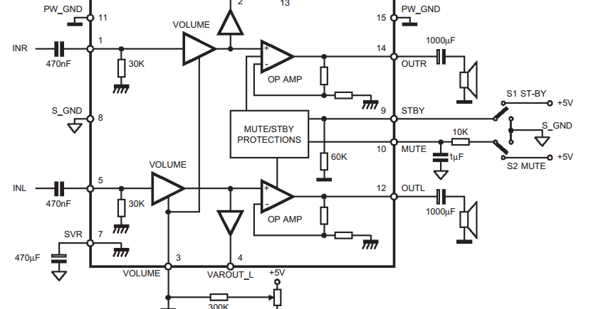wireless transmitter microphone circuit