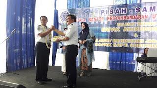 Amiruddin Ajak Pegawai Tingkatkan Kinerja Layanan Kantor Syahbandar Pelabuhan Tanjung Priok