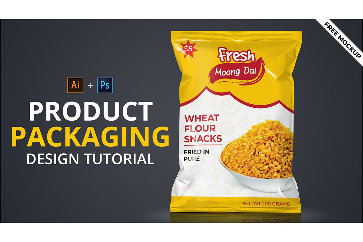 product packaging design tutorial in illustrator