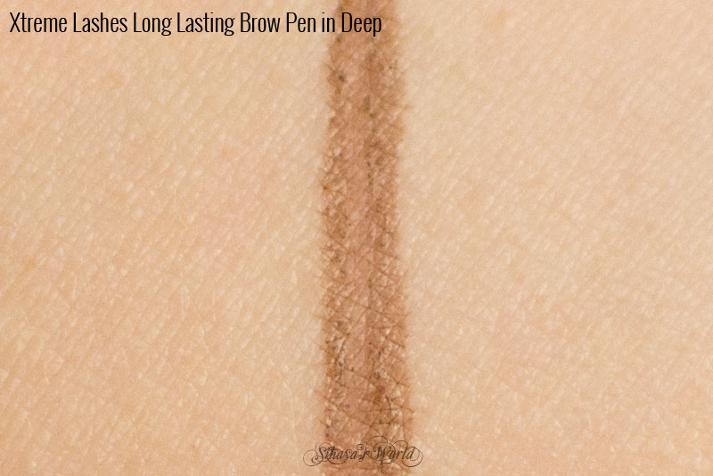 swatch Xtreme Lashes Long Lasting Brow Pen Deep
