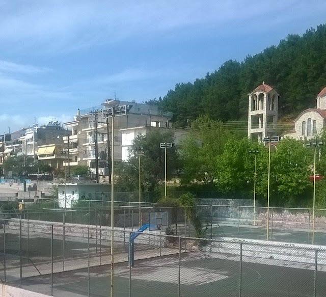 Ηγουμενίτσα: Περικυκλωμένα από ... ζούγκλα, τα γηπεδάκια στην οδό Γράμμου