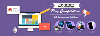Axioo Blog Competition 2017 - Blog Mas Hendra
