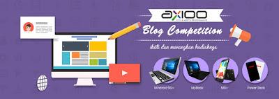 Axioo Blog Competition 2017 - Blog Mas Hendra
