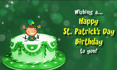 St Patrick's day birthday images 2018