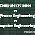 Computer Engineering vs Computer Science vs Software Engineering