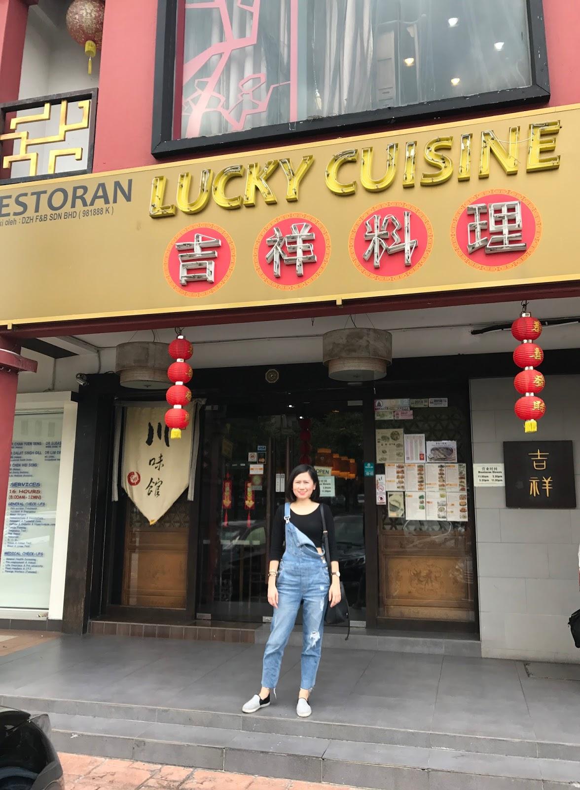 Lucky Cuisine Restaurant 吉祥四川菜馆 Lunch Set @ Kota Damansara
