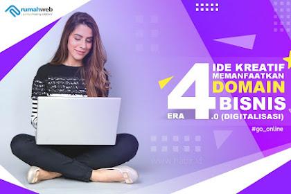 4 Cara Memanfaatkan Domain untuk Bisnis UKM di Era Digital