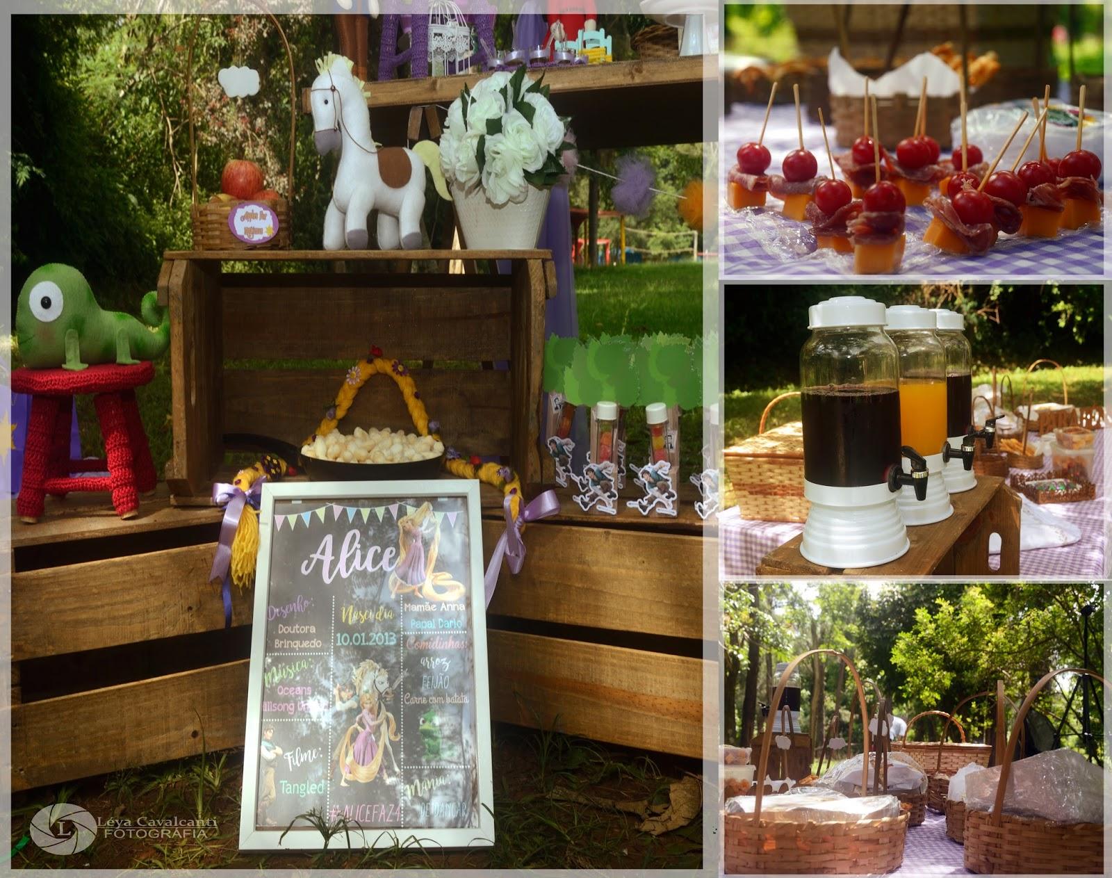 Festa Rapunzel picnic - Anna Peppe