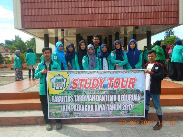 Study Tour Mahasiswa Prodi MPI Dalam Rangka Sejarah Penyebaran Agama Islam Di Kalimantan