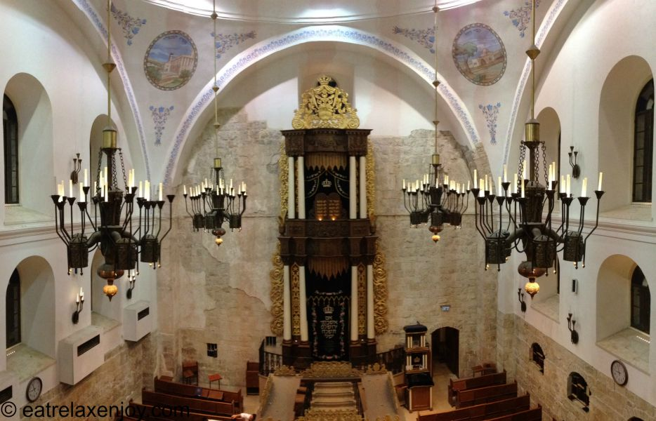 The Hurva Synagogue Jerusalem
