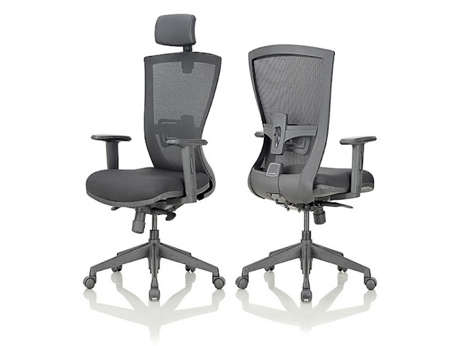 best buy grey ergonomic office chair Ontario for sale