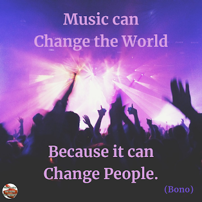 "Quotes About Change To Improve Your Life: ""Music can change the world because it can change people."" ― Bono"