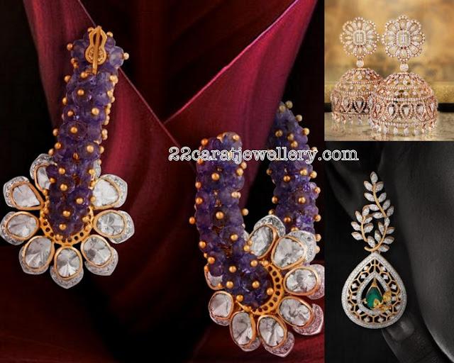 Classic Diamond Earrings by TBZ