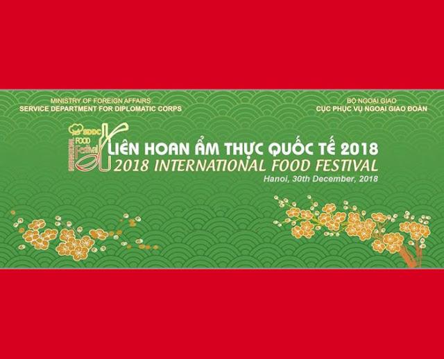 Liên hoan Ẩm thực Quốc tế 2018
