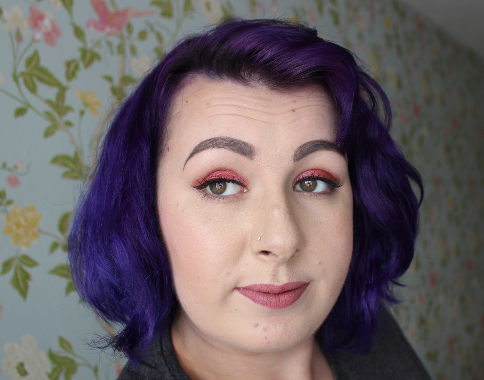 urban decay salazen drum makeup look