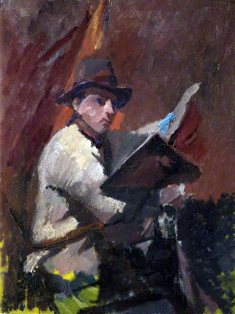 David Bomberg, Self Portrait, Portraits of Painters, Fine arts