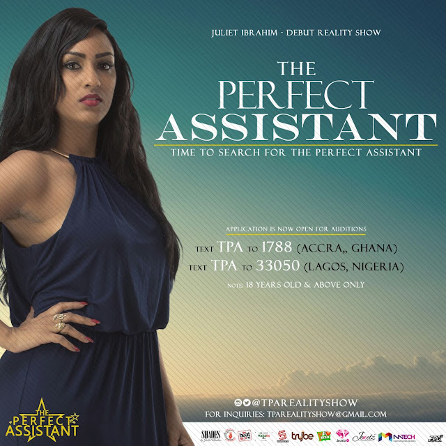 Juliet Ibrahim to launch reality tv series THE PERFECT ASSISTANT