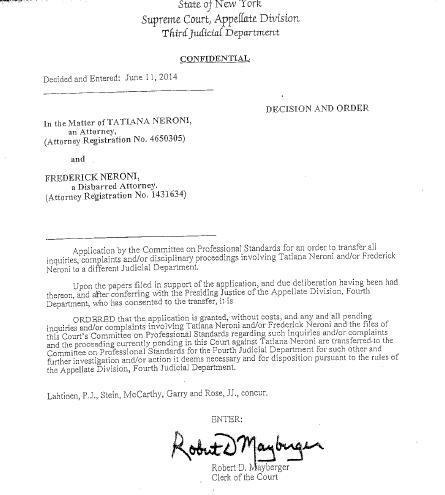 Division order cover letter