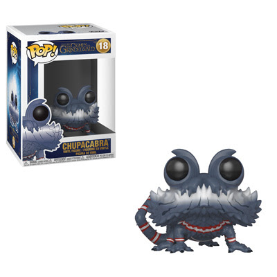 Start your training as a magizoologist with a Pop! Chupacabra, glow in the dark Pop! Matagot, and adorable brown and tan Pop! Baby Niffler two-pack!