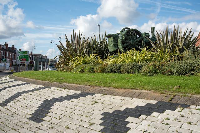 Roundabout, Gainsborough - Copyright C Goddard