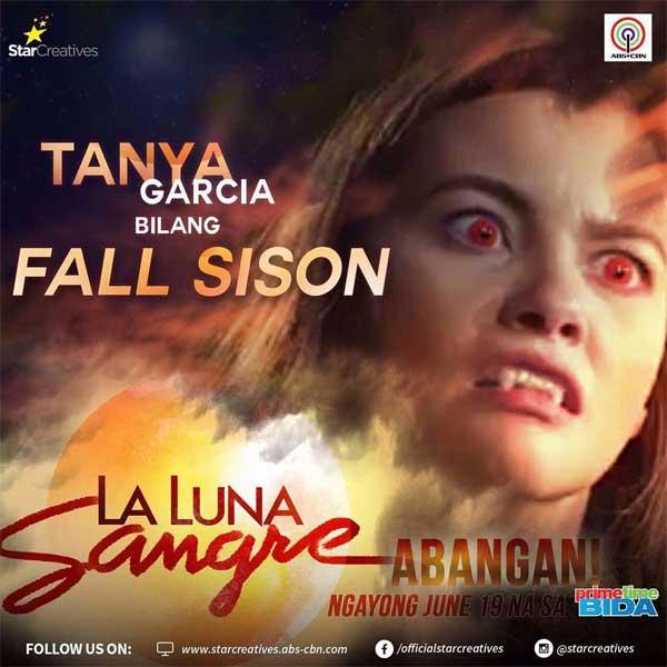 Tanya Garcia returns to ABS-CBN via La Luna Sangre