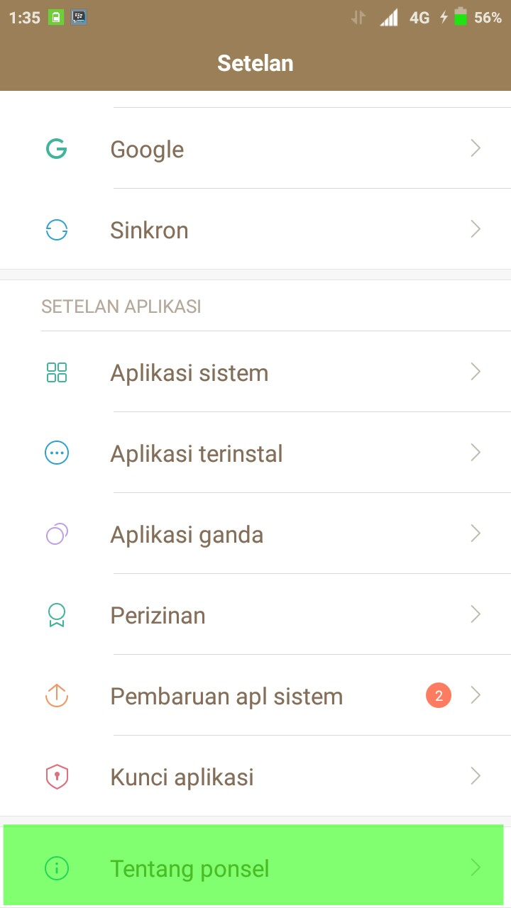 Cara Mengunci Hp Xiaomi Redmi 4x Agar Tetap Dijaringan Lte 4g Saja