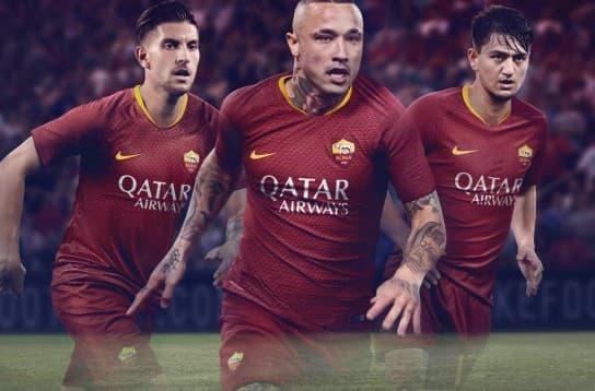 ASローマ 2018-19 ユニフォーム-ホーム