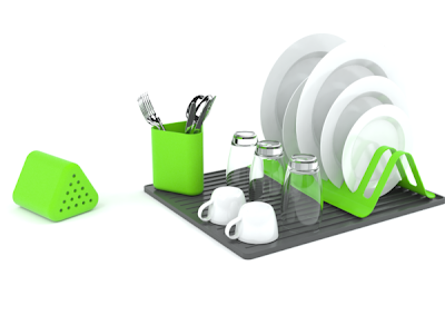 Creative Dish Drainers and Modern Dish Racks (15) 8