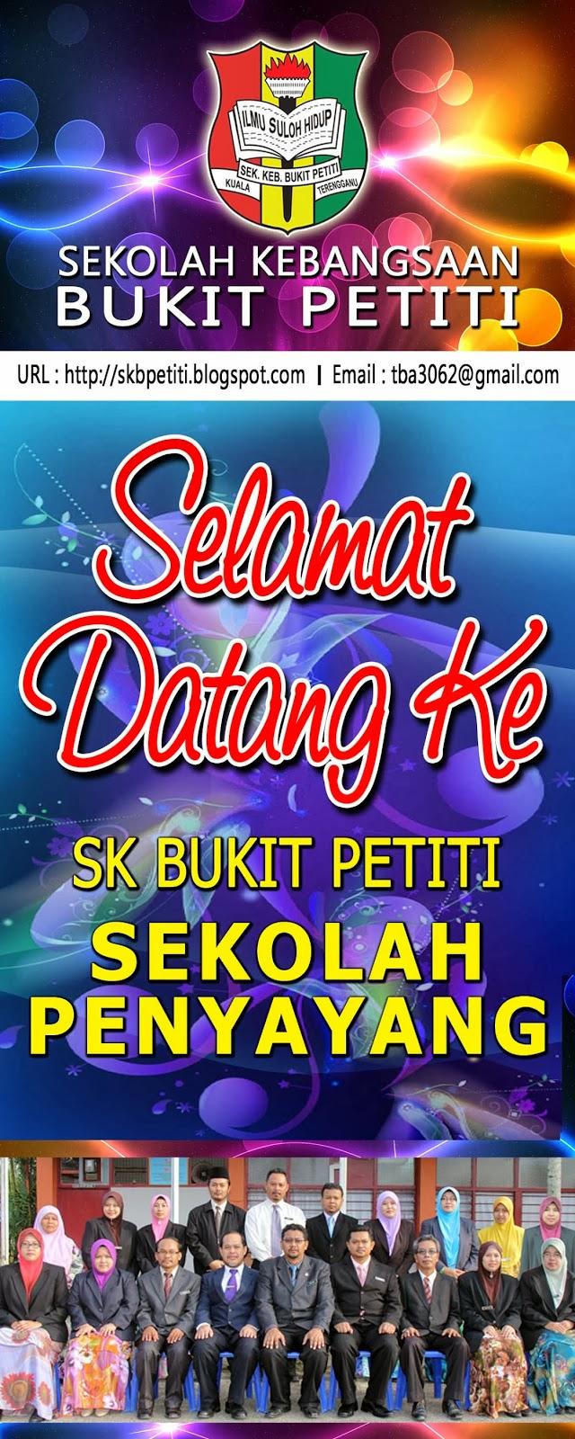 SK BUKIT PETITI  Kuala Terengganu Galeri Grafik Sekolah