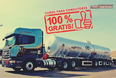 TRANS PANORAMA ABRE CURSO GRÁTIS PARA CONDUTORES