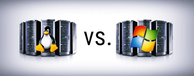 مقارنة-بين-استضافة-ويندوز-ولينكس