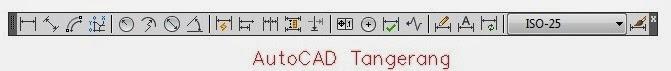 Kumpulan Perintah Dimension AutoCAD.