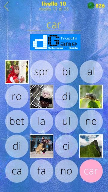 650 Foto soluzione pacchetto 10 livelli (1-25)