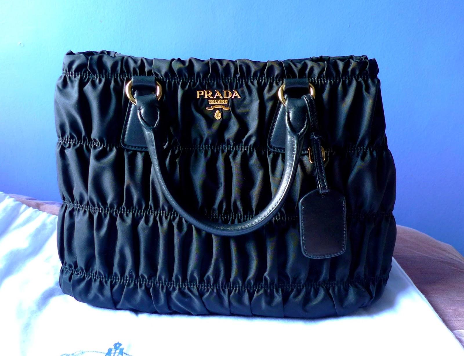 5b11fa2942 Bag Review  Prada Tessuto Gaufre  BN1789M+Authenticate Your Prada Gaufre   BN1789M!