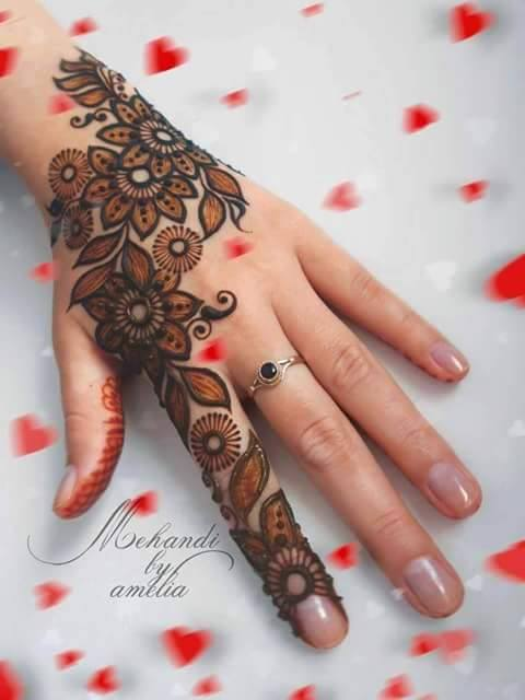 Mehandi Design for Hands 16