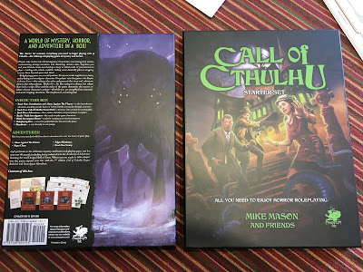 Starter Set para Call of Cthulhu 7 (Chaosium)