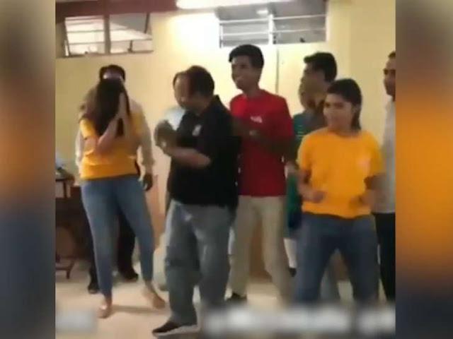 डब्बू अंकल' अब लोगों को सिखा रहे डांस