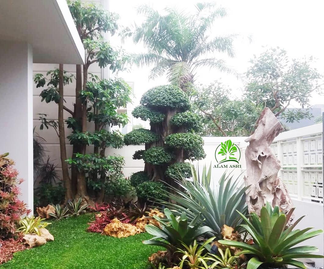 Tukang Taman Surabaya | Jasa Desain Pembuatan Taman | Alam Asri