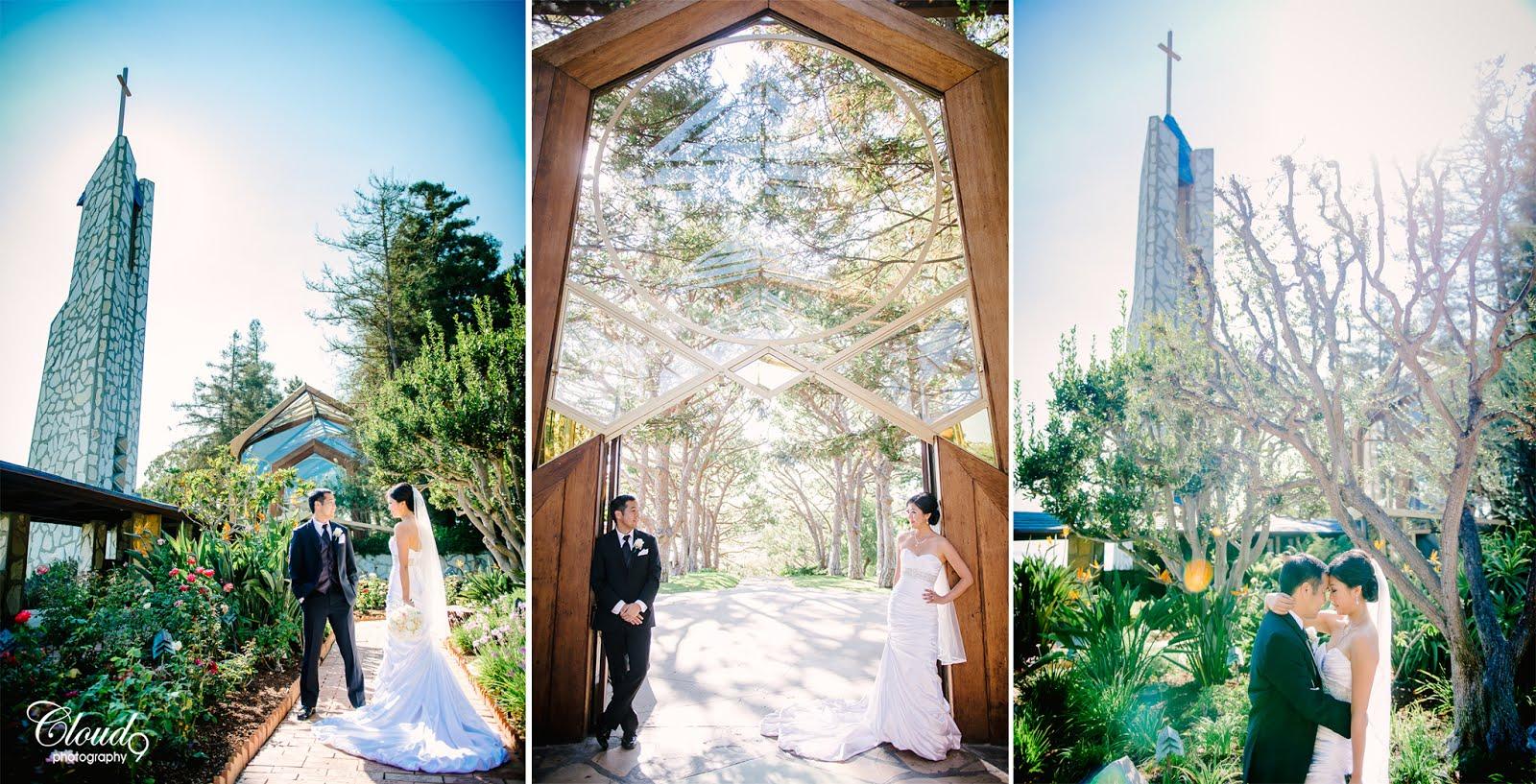 Wayfarers Chapel Wedding.Whitney Andrew Big Day At Wayfarers Chapel Rancho Palos Verdes