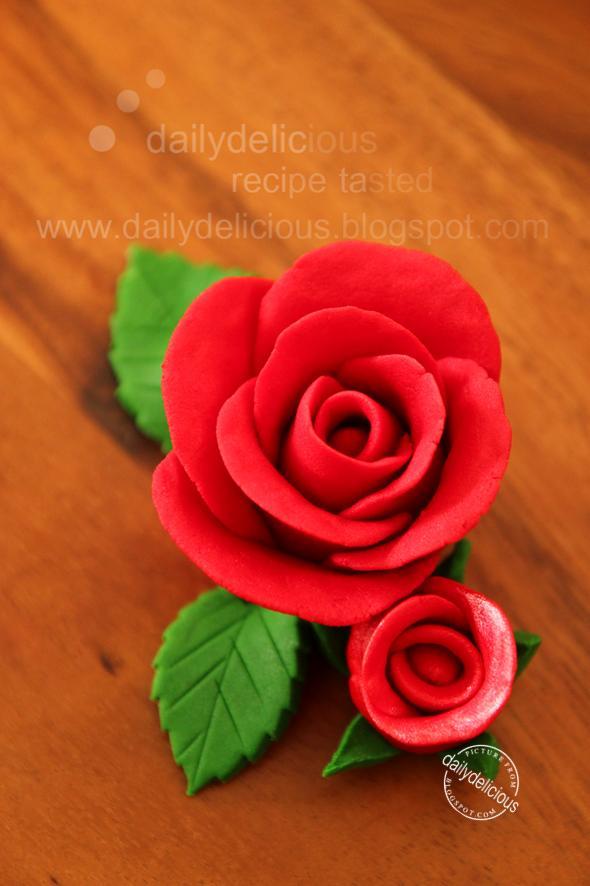 How To Make Easy Fondant Roses