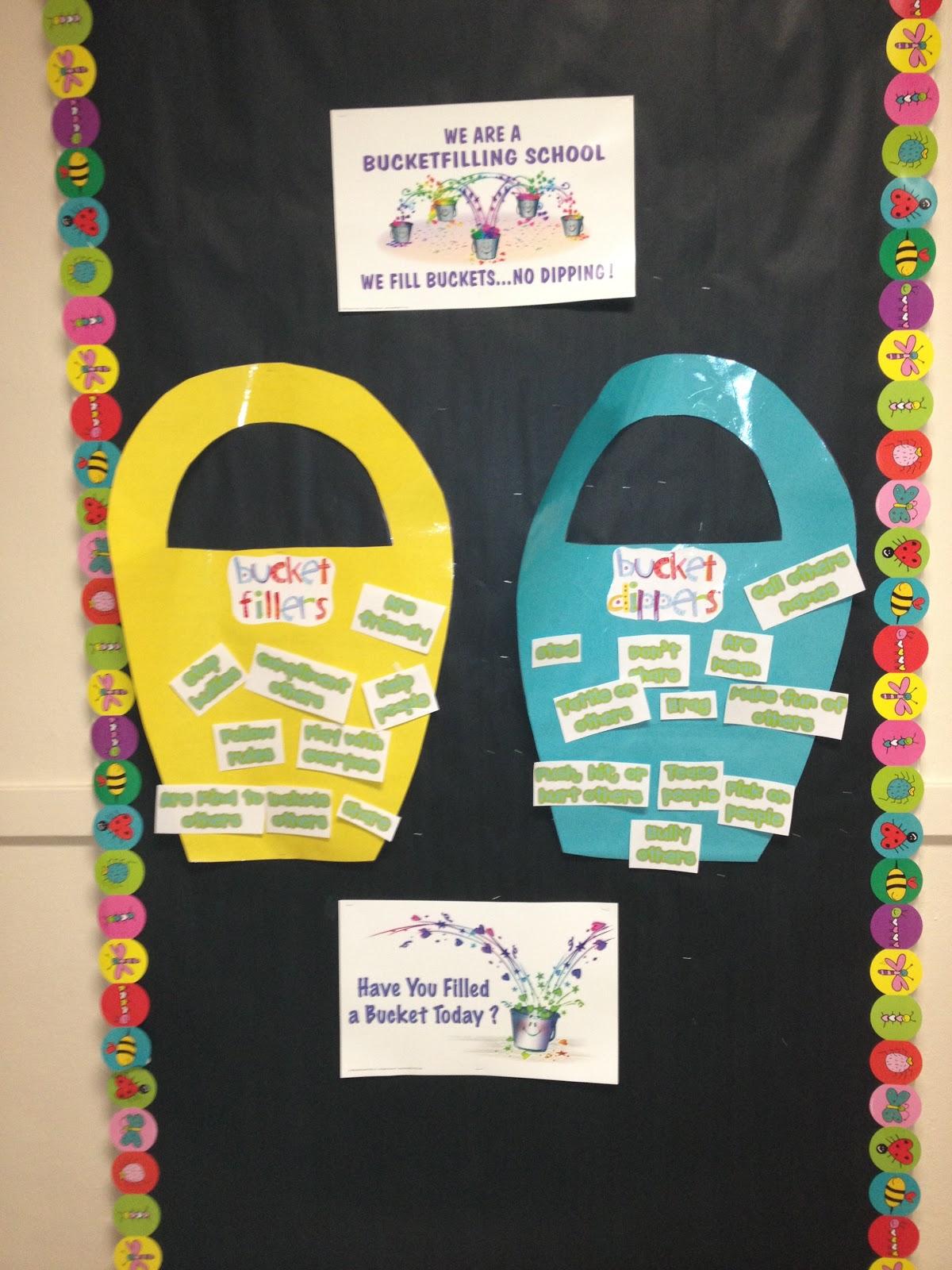 Ms Sepp S Counselor Corner Bucket Filling Bulletin Board