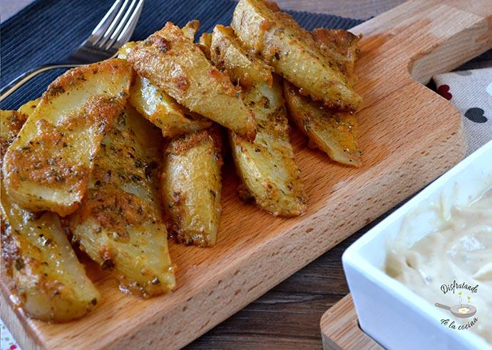 Patatas gajo al horno (Receta fácil)
